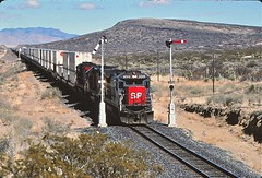 Polly, New Mexico (UW1983) Tags: newmexico trains railroads southernpacific intermodal semaphores stacktrains