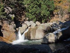 PB243754 (karst) Tags: autumn japan walk autumncolors e30 yamanashi 2011 shosenkyo autumnwalk 1122mmf2835