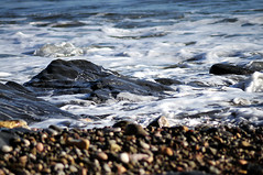 Rocky Shoreline 2 (rosyrosie2009) Tags: uk sea england seascape beach water closeup photography coast devon torquay westcountry coastpath torbay meadfootbeach southwestcoastpath d5000 tamronaf70300mmf456dildmacro tamron70300mmlens rosiespooner rosyrosie2009 rosemaryspooner rosiespoonerphotography