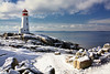 Snow Capped Peggy's (sminky_pinky100 (In and Out)) Tags: travel winter lighthouse snow canada tourism landscape rocks novascotia atlantic coastal peggyscove iconic theperfectpicture omot cans2s perfectioninpictures masterclasselite