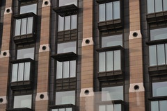 Windows (Pea Bwain) Tags: windows brown london lines pattern stripes balconies rectangles