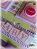 Kit Baby Girl (Le Scraft) Tags: baby verde riodejaneiro scrapbook scrapbooking rj rosa fotos caixa bebê fotografia menina scrap niterói pirulitos lilás decorados álbumdobebê livrodobebê lescraft