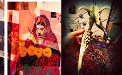 """Twins"" (Loana Ibarra) Tags: art collage painting mexico skeleton mixed mix arte sweden teeth workinprogress konst esqueleto sverige malm ibarra alternative lim suecia mexiko dientes skelett alternativo loana alternativt loanaibarra loanaibarramazari"