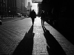Friendship is the shadow of the evening, which increases with the setting sun of life. () Tags: sanfrancisco california longshadows sfmissingkenton