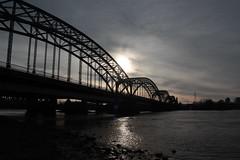 Alte Süderelbbrücke vom nördlichen Ufer