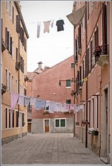 Everyday Venezia, East Castello II (Rita Crane Photography) Tags: venice italy buildings pastel stock clothes laundry clothesline dailylife cheerful residences stockphotography typicalscene everydayvenice ritacranephotography wwwritacranestudiocom eastcastello