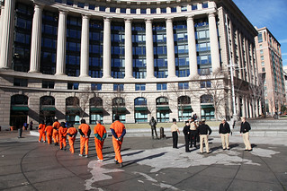 Witness Against Torture: March Past the Navy