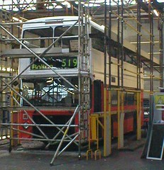 3248 repaint - undercoated (Leyland Bus) Tags: gmt gmpte 3248 repaints 30180 firstmanchester gmbuses leylandolympian northerncounties barbie2 ncme boltondepot greatermanchesterbuses crookstreet tfgm c248frj
