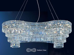 "8413 HOURGLASS CHANDELIER • <a style=""font-size:0.8em;"" href=""http://www.flickr.com/photos/43749930@N04/6702791703/"" target=""_blank"">View on Flickr</a>"