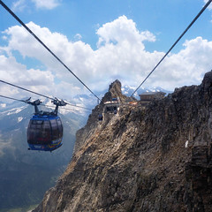 A view on the highest two-wire cable car in the world (Bn) Tags: world winter summer vacation two people mountain 3 snow ski alps nature car geotagged austria oostenrijk wire chair topf50 day all skiing cloudy steel iii year transport large cable tourist panoramic resort glacier alpine cables round gondola 24 hiker carver peaks visitors gletscher snowboarder topf100 sunbather wal feelings zillertal austrian hintertux highest indescribable spectacle lifts schwaz 3250m kier kabelbaan tuxertal arouse 100faves 50faves hintertuxer gletscherbus gefrorenewandspitzen gefrorene 10660ft gletscherbusse geo:lon=11675280 geo:lat=47071043