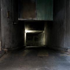 Underworld (Philippe Yong) Tags: paris 120 film canon mediumformat parking underworld squarecrop mamiya7ii g9 moyenformat philippeyong wwwpyphotographyfr