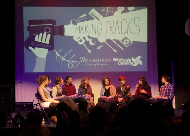Q&A - (right to left) Srdjan Keca, Hannah Robinson, Max Lincoln, Jo Shaw, Katie Steed, The Cabinet of Living Cinema