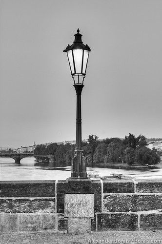 Straßenlampe, Prag / Streetlight, Prague (Czech Republic)