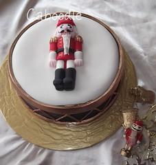 par-up-a-pum-pum (The Whole Cake and Caboodle ( lisa )) Tags: christmas xmas newzealand cakes cake fruit sandra drum nutcracker whangarei fondant caboodle thewholecakeandcaboodle