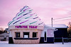 Whippy Dip (JSmith Photo) Tags: winter sunset white snow cold giant cone michigan icecream hemlock twisteetreat whippydip