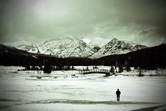 Cascade Ponds (Ceinwenlee) Tags: snow canada mountains cold ice alberta banff banffnationalpark