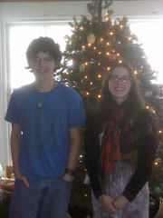 Jenny and Jon at Christmas (ems18) Tags: jonathan jennifer