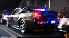 OPP Stealth Dodge Charger (PoliceCarDiecast.com) Tags: tahoe victoria stealth crown charger opp policecardiecastcom