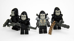 Karman Empire! (JasBrick) Tags: lego gorilla space planetoftheapes scifi minifigs custom apes karman at43