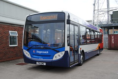 Stagecoach North West 27744 (Hesterjenna Photography) Tags: bus buses coach transport passengers transit depot alexander dennis morecambe stagecoach omnibus psv openday stagecoachnorthwest enviro300 stagecoachribble px11dmz