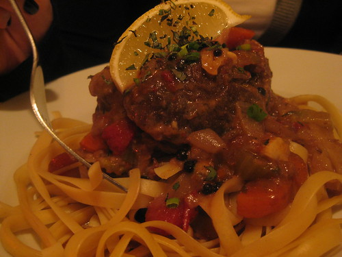 Osso Bucco with Linguine