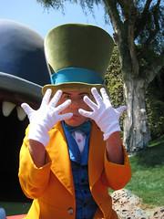 Watch Your Hands (briberry) Tags: alice disneyland disney mad wonderland hatter
