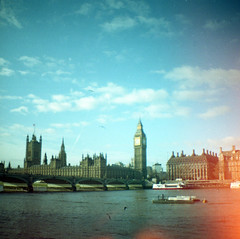 London and Other Short Stories (Irene Stylianou) Tags: uk greatbritain england london film westminster ferry thames analog 35mm river landscape boat lomo lomography toycamera bigben clocktower diana 24mm riverthames analogphotography touristattraction 100asa westminsterbridge lomocamera palaceofwestminster 100iso ferryride filmphotography lomographic 24mmlens lomographyfilm lomographydianamini dianamini lomographycn100 lomographycolornegative100 irenestylianou