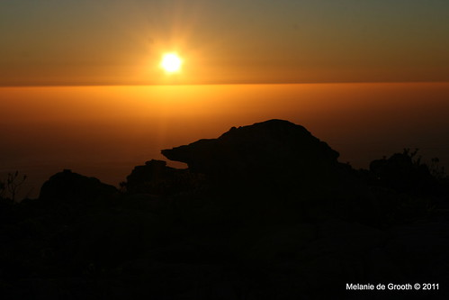 Sunset on Table Mountain 4