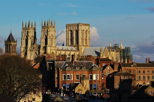 View of York Minster from City Wall