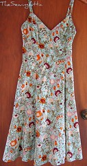 Christmas day dress (catherine's attic) Tags: summerdress