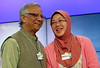 Muhammad Yunus, Mastura Abdul Rahman - World Economic Forum Annual Meeting 2012