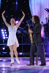 Joannie Rochette & Kenny G