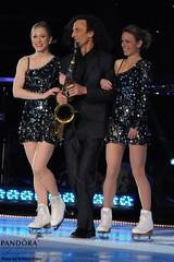 Joannie Rochette, Kenny G & Katia Gordeeva