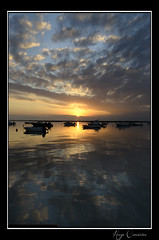 Perfect End (Hugo Carvoeira) Tags: sunset reflection portugal marina faro boats golden nikon ii nikkor ria vr 18200mm newvision d7000 dblringexcellence eltringexcellence peregrino27newvision