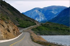 Beautiful Alaska - a landscape with mountains (blmiers2) Tags: road travel blue mountain lake mountains green nature beautiful alaska landscape nikon highway d3100 blm18 blmiers2