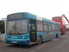 Sign of the times, low floor buses going for scrap (Ryanbus22) Tags: bus buses south yorkshire scrapyard scrap arriva p192vua