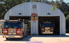 Orlando Fire Dept Fire Station No. 9 Engine 9 & Tower 9 (West Florida Fire Photography) Tags: rescue ambulance paramedic ofd towerladder paramedicengine aerialdevice paramedicrescue truckcompanies sutphenfireapparatus orlandofiredept firestationno9 paramedictower