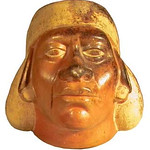 "<b>Moche Portrait Jar</b><br/> Unknown (Peruvian) (1943- ) ""Moche Portrait Jar"" Earthenware, 500-600 AD LFAC #2002:04:16 <a href=""http://farm8.static.flickr.com/7011/6831797745_6e1e1d873f_o.jpg"" title=""High res"">∝</a>"