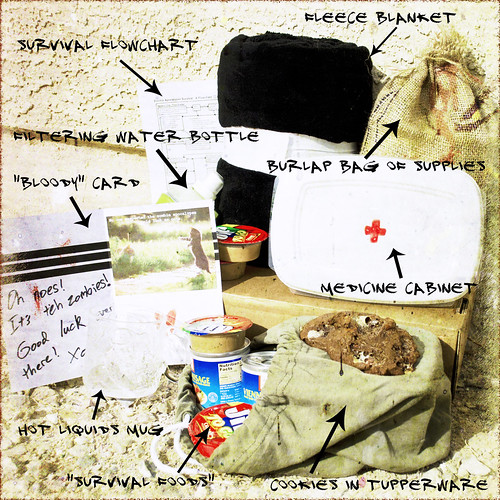 Six tips for creating ... Zombie Apocalypse Survival Kit Labels
