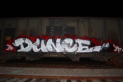 Dunce (takingcityproperty) Tags: train graffiti james miami cheeseburger doggystyle lebron dunce tcp