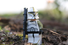 Out and about (Mr. Slurpy. M) Tags: door test trooper canon out eos star with lego stuff wars clone 1100d