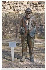 Heppenheim (Bergstraße) - Martin Buber Statue