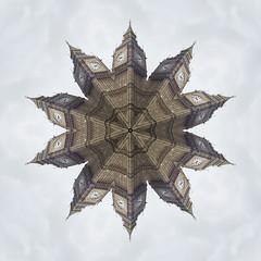 Big Ten (Alex Bamford) Tags: sky london tower westminster pattern post bigben kaleidoscope repeat alexbamford wwwalexbamfordcom alexbamfordcom