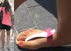 Sexy female toes (dani897) Tags: feet toes sandals flipflops sexytoes sexyfeet femalefeet femaletoes
