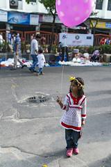 Pink (AvikBangalee) Tags: people flower child outdoor balloon newyear celebration jeans littlegirl dhaka festivities bangladesh bangladeshi girlchild pohelaboishakh shahbagh avikbangalee peopleandliving bengalinewyearcelebration
