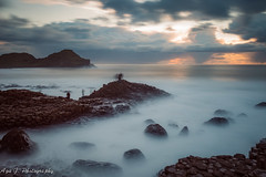 Famous Giant's Causway (Aga G. Photography) Tags: ireland sky storm nature clouds big long exposure stones giants northern causeway stopper canon5dmark3