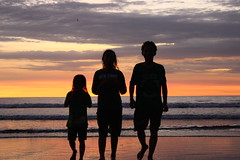 Sunset (nardana1) Tags: sea bali holiday beach indonesia december triple kuta