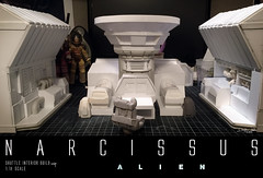 NARCISSUS42 (sith_fire30) Tags: sculpture building art scott miniature big model allen action alien aves ripley shuttle figure beast custom dayton diorama giger narcissus chap hrgiger prometheus sculpt styrene ridley xenomorph nostromo fixit sithfire30 covneant