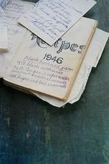 Grandma's recipe book (borealnz) Tags: old vintage notebook book antique handwritten recipebook