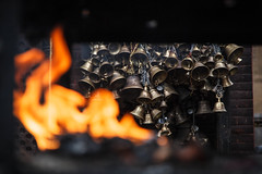 Prayer Bells (Mark S Weaver) Tags: kathmandu patan nepa